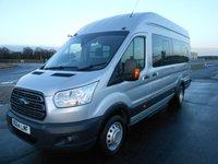 2014 FORD TRANSIT MINIBUS 460 L4 H3 TREND 17-Seats 155ps £13995.00