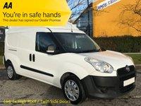 USED 2013 13 FIAT DOBLO XL Cargo 1.6JTD 16v 105 Multijet High Roof Van Twin SLD AA Dealer Promise Free UK Delivery