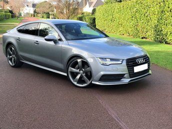 2015 AUDI A7 3.0 SPORTBACK TDI QUATTRO S LINE BLACK EDITION 5d AUTOMATIC  268 BHP 1 OWNER LOW MILES MEGA SPEC HEAD-UP-DISPLAY PARKING AID+MORE OVER £4K OPTIONAL EXTRAS FACTORY FITTED BEST FINANCE RATES AVAILABLE ENQUIRE TODAY  £26995.00