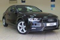 2013 AUDI A4 2.0 TDI SE TECHNIK 4d AUTO 141 BHP SALOON £11940.00