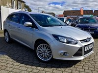 USED 2014 63 FORD FOCUS 1.6 ZETEC NAVIGATOR TDCI 5d 113 BHP PRICE INCLUDES A 6 MONTH RAC WARRANTY, 1 YEARS MOT WITH 12 MONTHS FREE BREAKDOWN COVER