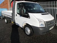 """2013 FORD TRANSIT 350 MWB 10ft 6 """"One Stop"""" Alloy Dropside DRW *TWIN REAR WHEELS* £10495.00"""