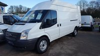 2012 FORD TRANSIT 125 350 LWB HIGH ROOF FWD WITH FULL HISTORY £6995.00