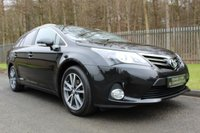 2014 TOYOTA AVENSIS 2.0 D-4D ICON 5d 124 BHP £7000.00
