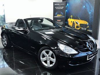 2007 MERCEDES-BENZ SLK 1.8 SLK200 KOMPRESSOR 2d AUTOMATIC 161 BHP MEGA SPEC HEATED SEATS-AIRSCALF GREAT COLOUR COMBINATION JUST SERVICED M-O-T TILL 01-19 ENQUIRE TODAY BEST FINANCE AVAILABLE £7500.00