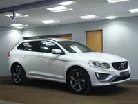 USED 2014 64 VOLVO XC60 2.0 D4 R-DESIGN 5d AUTO 178 BHP FULL LEATHER