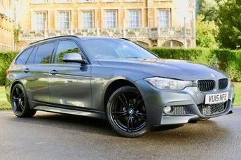 2015 BMW 3 SERIES 2.0 320D XDRIVE M SPORT TOURING 5d AUTO 181 BHP £15980.00