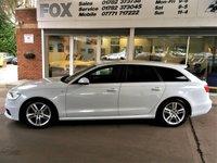 2014 AUDI A6 2.0 AVANT TDI ULTRA S LINE 5d AUTO 188 BHP £16775.00