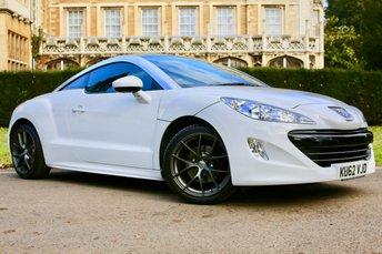 2012 PEUGEOT RCZ 1.6 THP GT 2d 156 BHP £7250.00