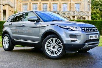 2012 LAND ROVER RANGE ROVER EVOQUE 2.2 SD4 PRESTIGE 5d AUTO 190 BHP £17980.00