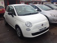 USED 2013 13 FIAT 500 1.2 POP 3d 69 BHP Low mileage, low insurance, low tax, low price, ideal first car, superb,