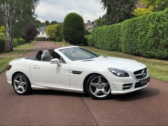 2014 MERCEDES-BENZ SLK 1.8 SLK200 BlueEFFICIENCY AMG Sport 7G-Tronic Plus (s/s) 2dr £14595.00