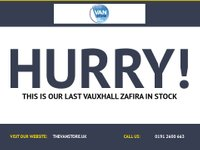 USED 2006 VAUXHALL ZAFIRA 1.6 CLUB 16V 5d 103 BHP