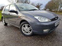 USED 2005 54 FORD FOCUS 1.8 ZETEC 5d ALLOYS A/C
