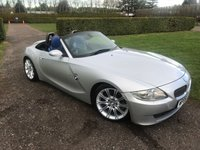 USED 2006 06 BMW Z4 3.0 Z4 SI SPORT ROADSTER 2d AUTO 262 BHP Full BMW History MOT 12/19 Full BMW + Specialist Service History, MOT 01/19, Recent Service @ BMW On 12/17, RARE Individual Blue Leather, Heated Seats, Electric Adjustable Memory Seats, Xenons, Truly Stunning Unmarked Example,  X2 Keys, Elec Folding Mirrors, Auto Lights On Auto Wipers, Dimming Rear View Mirror, BMW Hifi Upgrade, Subwoofers Behind Seats, 18 In MV Alloys, F1 Style Paddle Shifters, Full Carpet Mat Set, Blistering Performance And Handling, You Will Not Be Disaapointed!!