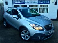 USED 2015 65 VAUXHALL MOKKA 1.6 EXCLUSIV CDTI ECOFLEX 38K FSH ONE OWNER  HIGH SPEC MODEL  £20/YR TAX  EXCELLENT CONDITION