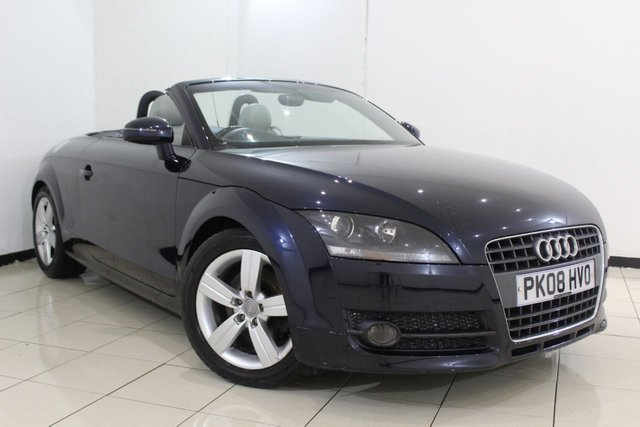 View our 2008 08 AUDI TT 2.0 TFSI 2DR 200 BHP