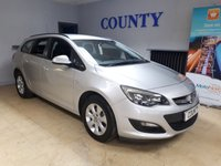 USED 2014 64 VAUXHALL ASTRA 1.6 DESIGN CDTI ECOFLEX S/S 5d 108 BHP * ONE OWNER WITH HISTORY *