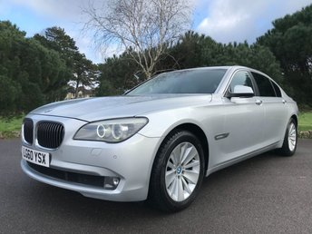 2010 BMW 7 SERIES 3.0 730LD SE 4d AUTO 242 BHP £10950.00