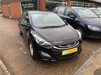 USED 2014 64 HYUNDAI I30 1.4 ACTIVE 5 DOOR 98 BHP IN BLACK WITH ONLY 36000 MILES.  APPROVED CARS ARE PLEASED TO OFFER THIS HYUNDAI I30 1.4 ACTIVE 5 DOOR 98 BHP IN BLACK WITH ONLY 36000 MILES IN IMMACULATE CONDITION INSIDE AND OUT WITH A FULL SERVICE HISTORY AND ONLY 1 OWNER FROM NEW..