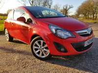USED 2015 64 VAUXHALL CORSA 1.2 EXCITE 3d HALF LEATHER  ALLOYS A/C