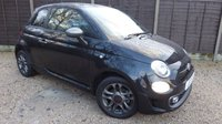 USED 2017 17 FIAT 500 1.2 S 3dr £20 Per Year Tax, Great Spec