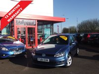 2014 VOLKSWAGEN GOLF 1.6 MATCH TDI BLUEMOTION TECHNOLOGY 5d 103 BHP £11595.00