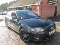 2009 AUDI A3 2.0 TDI S LINE BLACK EDITION 170 BHP 3dr £2,780 OF EXTRAS £5790.00