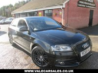 2009 AUDI A3 2.0 TDI S LINE BLACK EDITION 170 BHP 3dr £2,780 OF EXTRAS £6490.00