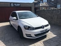 USED 2014 64 VOLKSWAGEN GOLF 1.4 MATCH TSI BLUEMOTION TECHNOLOGY 5dr  BHP FSH. DAB RADIO. PARKING SENSORS. CRUISE CONTROL.