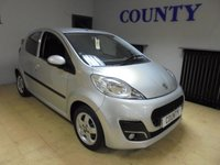 USED 2013 13 PEUGEOT 107 1.0 ALLURE 5d 68 BHP * TWO OWNERS WITH HISTORY *