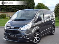USED 2016 16 FORD TRANSIT CUSTOM 2.2 270 LIMITED LR P/V 1d 124 BHP M SPORT PACK