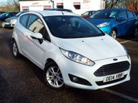 USED 2014 14 FORD FIESTA 1.6 ZETEC 3d AUTO 104 BHP ONE Owner FULL Ford Service History