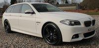 USED 2014 63 BMW 5 SERIES 2.0 520D M SPORT TOURING 5d AUTO 181 BHP