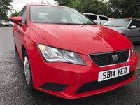 2014 SEAT LEON 1.2 TSI S 5d 105 BHP £6990.00