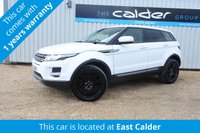 2012 LAND ROVER RANGE ROVER EVOQUE 2.2 TD4 PURE 5d 150 BHP 4WD £17750.00