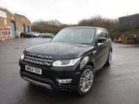 USED 2015 64 LAND ROVER RANGE ROVER SPORT 3.0 SDV6 HSE 5d AUTO 288 BHP