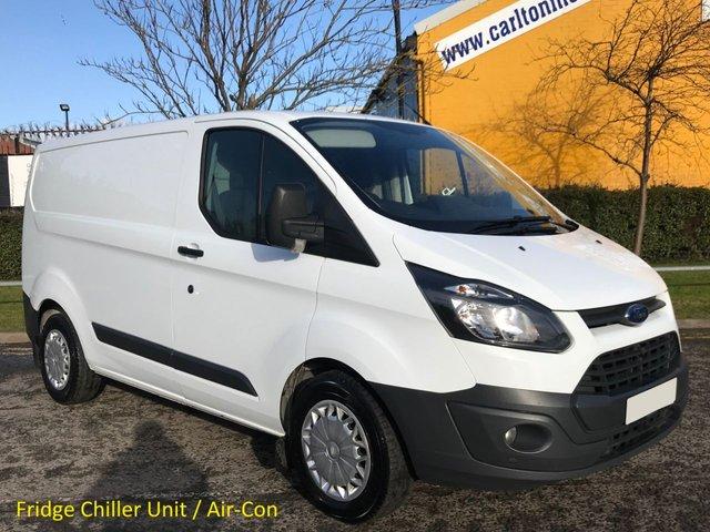 2015 15 FORD TRANSIT CUSTOM 310 L1 [ FRIDGE - CHILLER ] H1 Swb Van Free UK Delivery
