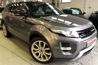 USED 2011 11 LAND ROVER RANGE ROVER EVOQUE 2.2 SD4 DYNAMIC 3d AUTO 190 BHP