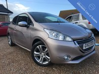 USED 2012 12 PEUGEOT 208 1.4 ALLURE 3d 95 BHP Stunning Colour - with FSH, sat nav and sensors