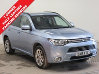 USED 2015 15 MITSUBISHI OUTLANDER 2.0 PHEV GX3H 5d AUTO 162 BHP ***1 Owner,Half Leather, History, Parking Sensors***