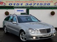 USED 2007 07 MERCEDES-BENZ E CLASS 3.0 E320 CDI AVANTGARDE 5d AUTO 222 BHP AUTOMATIC DIESEL, FULL DEALER HISTORY, 7 SEATER