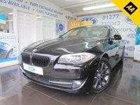 USED 2012 62 BMW 5 SERIES 2.0 520D SE 4d 181 BHP
