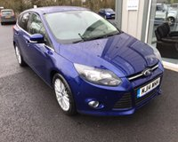 USED 2014 14 FORD FOCUS 1.6 TDCI ZETEC NAVIGATOR 115 BHP THIS VEHICLE IS AT SITE 2 - TO VIEW CALL US ON 01903 323333