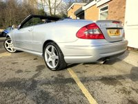 USED 2009 09 MERCEDES-BENZ CLK 1.8 CLK200 KOMPRESSOR SPORT 2d AUTO ONLY 49K MERC HISTORY  ONLY 49K FULL AMG BODY STYLING, HEATED LEATHER