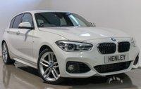 2016 BMW 1 SERIES 1.5 118I M SPORT 5d 134 BHP £15490.00