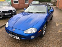 USED 2002 02 JAGUAR XKR 4.0 XKR 2d AUTO 370 BHP IN METALLIC BLUE WITH LIGHT CREAM LEATHER APPROVED CARS ARE PLEASED TO OFFER THIS JAGUAR XKR 4.0 XKR 2 DOOR AUTO 370 BHP CONVERTIBLE IN METALLIC BLUE WITH LIGHT CREAM LEATHER INTERIOR AND A BLACK POWER HOOD,FULLY LOADED IN EVERY RESPECT AND NOW BECOMING VERY COLLECTABLE WITH A DOCUMENTED SERVICE HISTORY.