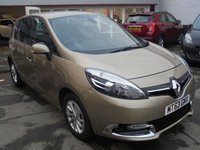2013 RENAULT SCENIC 1.5 DYNAMIQUE TOMTOM ENERGY DCI S/S 5d 110 BHP £7995.00