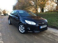 2012 FORD FOCUS 1.6 EDGE 5d 104 BHP PLEASE CALL TO VIEW £SOLD