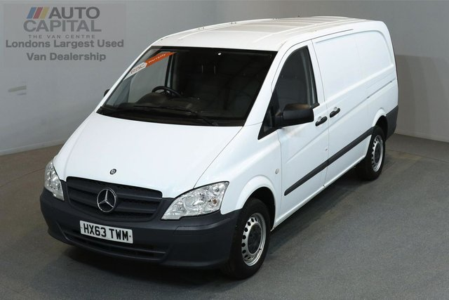 2013 63 MERCEDES-BENZ VITO 2.1 113 CDI 136 BHP LWB ONE OWNER FROM NEW, SERVICE HISTORY